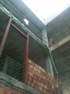 Redes de protección perimetral